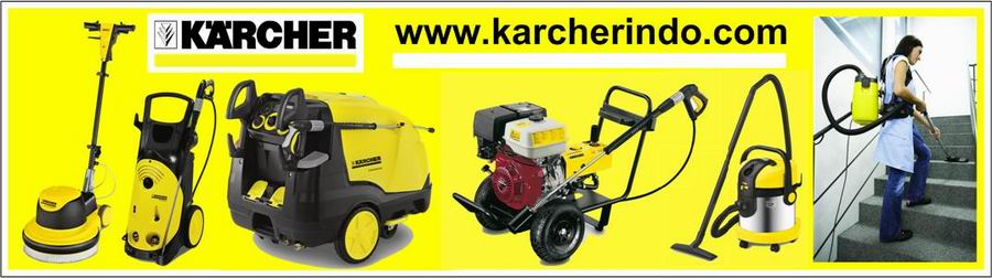 "SINAR HADI TEHNIK - DEALER RESMI KARCHER DI INDONESIA - ""KARCHER""  MAKES A DIFFERENCE"